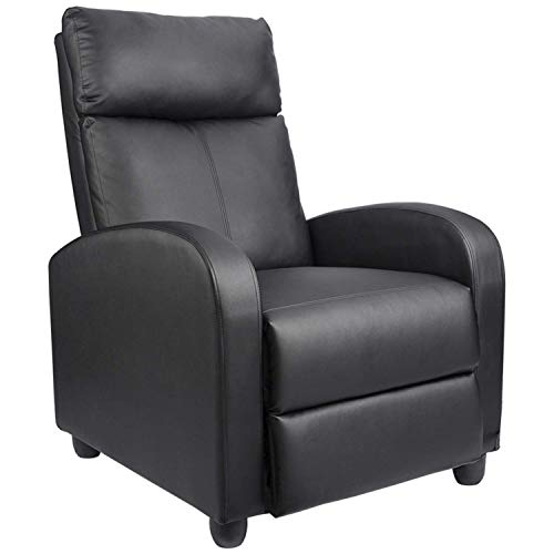 Homall Recliner Chair Padded Seat Pu Leather for Living...