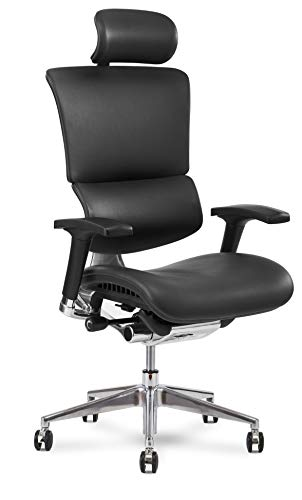 X Chair Office Desk Chair (X4 Black Brisa with...