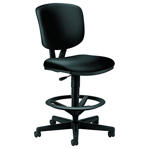 HON H5705.SB11.T Volt Task Stool - Leather Office Stool...