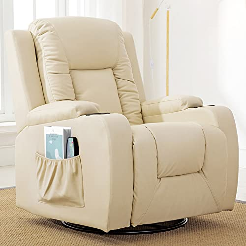 Comhoma Recliner Chair Massage Rocker with Heated...
