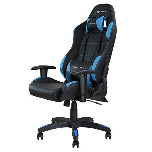 E-WIN Gaming Chair with Adjustable Armrest and Backrest...