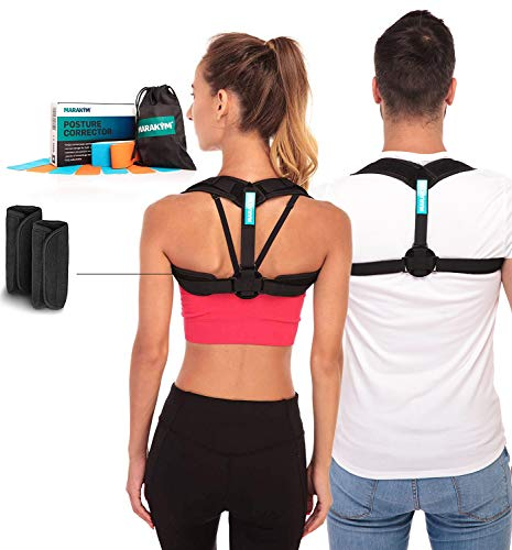 Posture Corrector – Adjustable Clavicle Brace to...