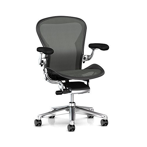Herman Miller Aeron Ergonomic Office Chair with...