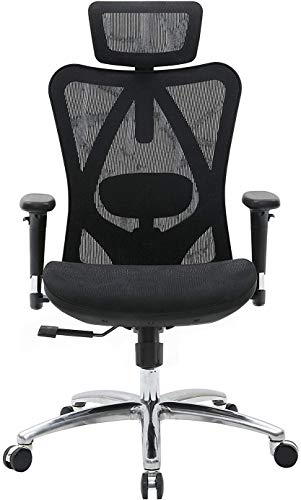SIHOO Ergonomic Adjustable Office Chair with 3D Arm...