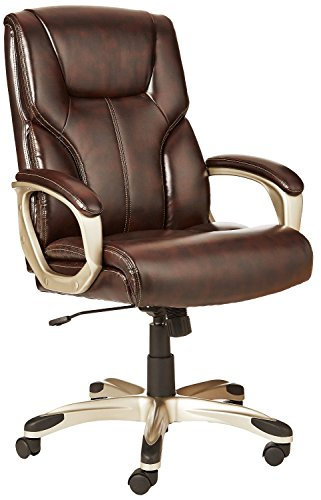 AmazonBasics High-Back Executive Swivel Office Computer...