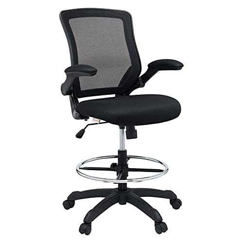 Modway Veer Drafting Chair - Reception Desk Chair -...