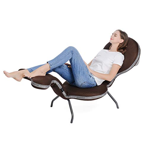 Folding Adjustable Recliner Patio Chair - MAX Support...