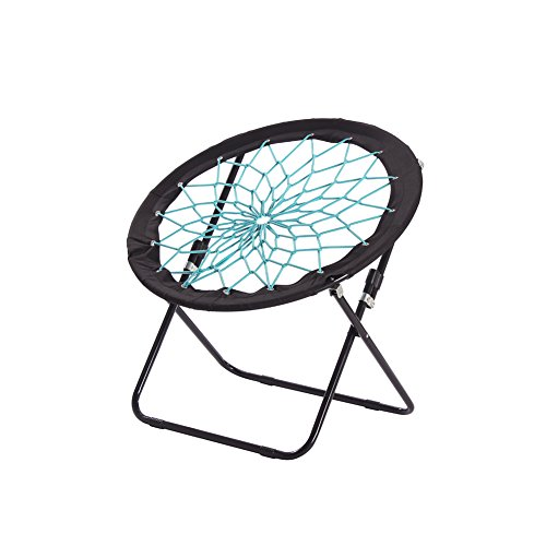 CampLand Bungee Dish Chair Bunjo Game Chair Folding...