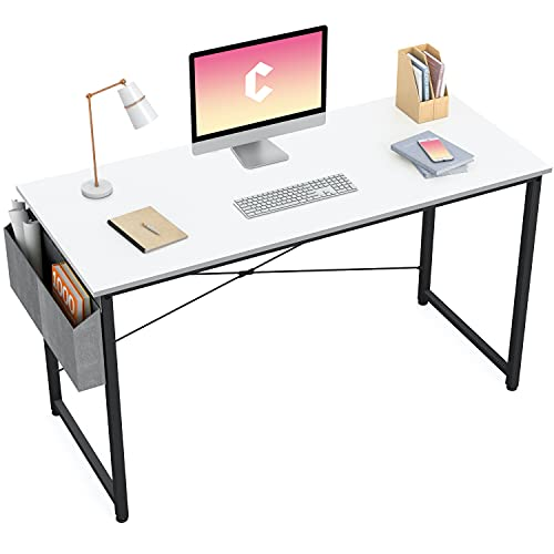 Cubiker Computer Desk 47 inch Home Office Writing Study...