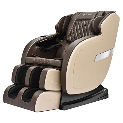 Real Relax Full Body Massage Chair Recliner with Yoga...