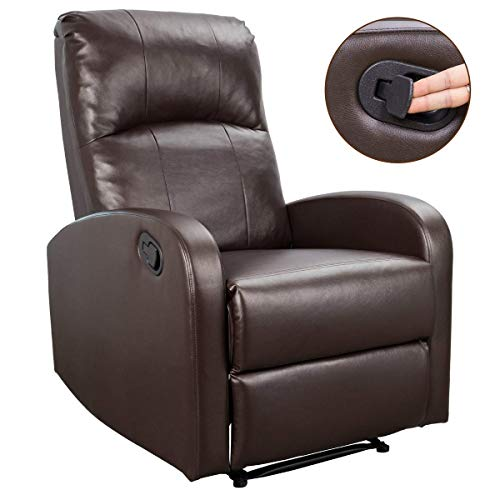 Homall Recliner Chair Sofa Home Theater Seating Pu...