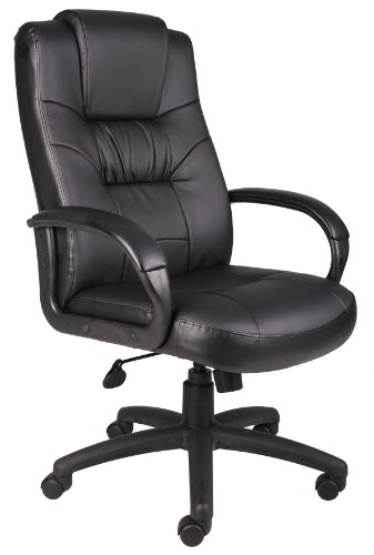 Boss Office Products Executive High Back LeatherPlus...