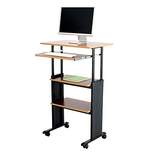 Safco Products Muv 35-49'H Stand-Up Desk Adjustable...