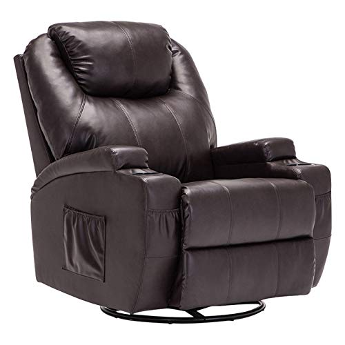 Mecor Massage Recliner Chair PU Leather Recliner Chair...