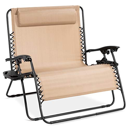 Best Choice Products 2-Person Double Wide Adjustable...