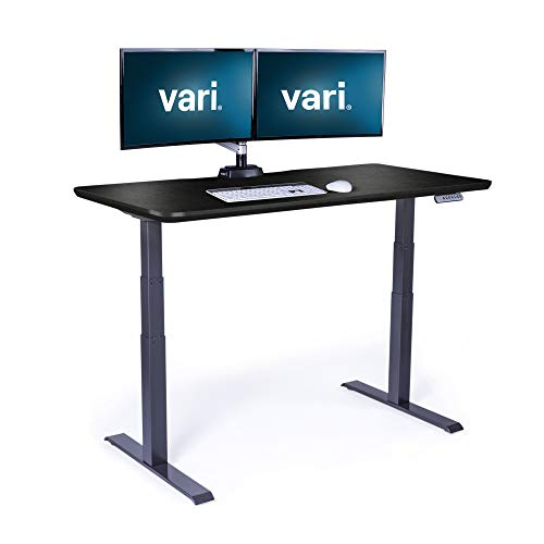 Vari Electric Standing Desk 60' x 30' - Dual Motor Sit...