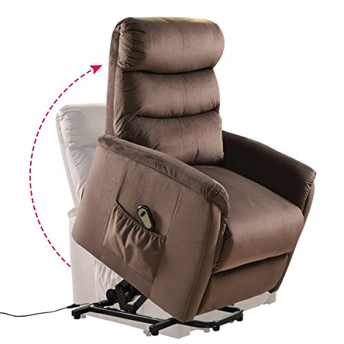 Giantex Power Lift Chair Recliner for Elderly Soft and...