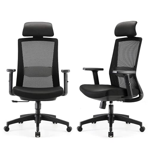 SIHOO Home Office Chair, Swivel Desk Chair with...