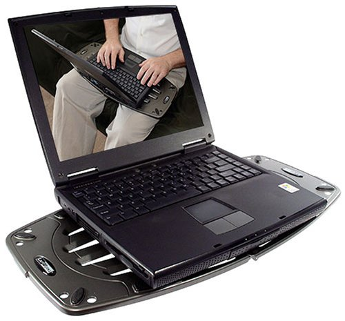 LapWorks Laptop Desk Futura Gray Portable 1.3 Lb. Lap...