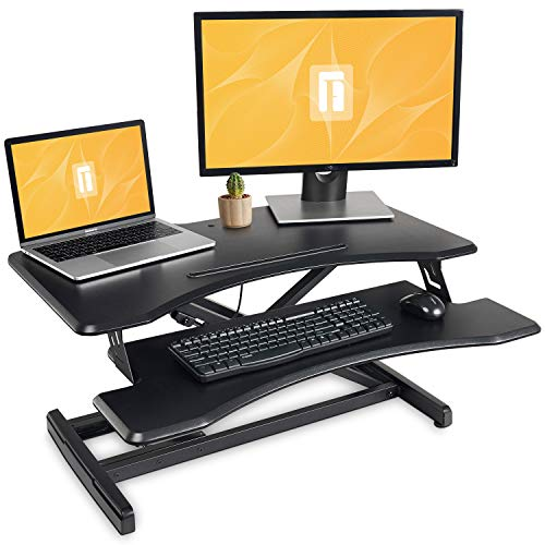 Standing Desk with Height Adjustable – FEZIBO Stand...