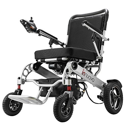 Intelligent Folding Electric Wheelchair for Adults,...