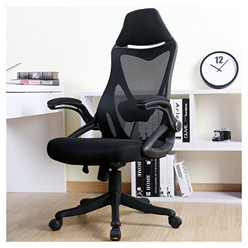 BERLMAN Ergonomic High Back with Adjustable Armrest...